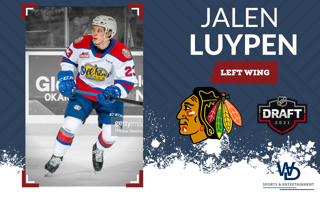 Hawks grab Luypen at the 2021 NHL Entry Draft