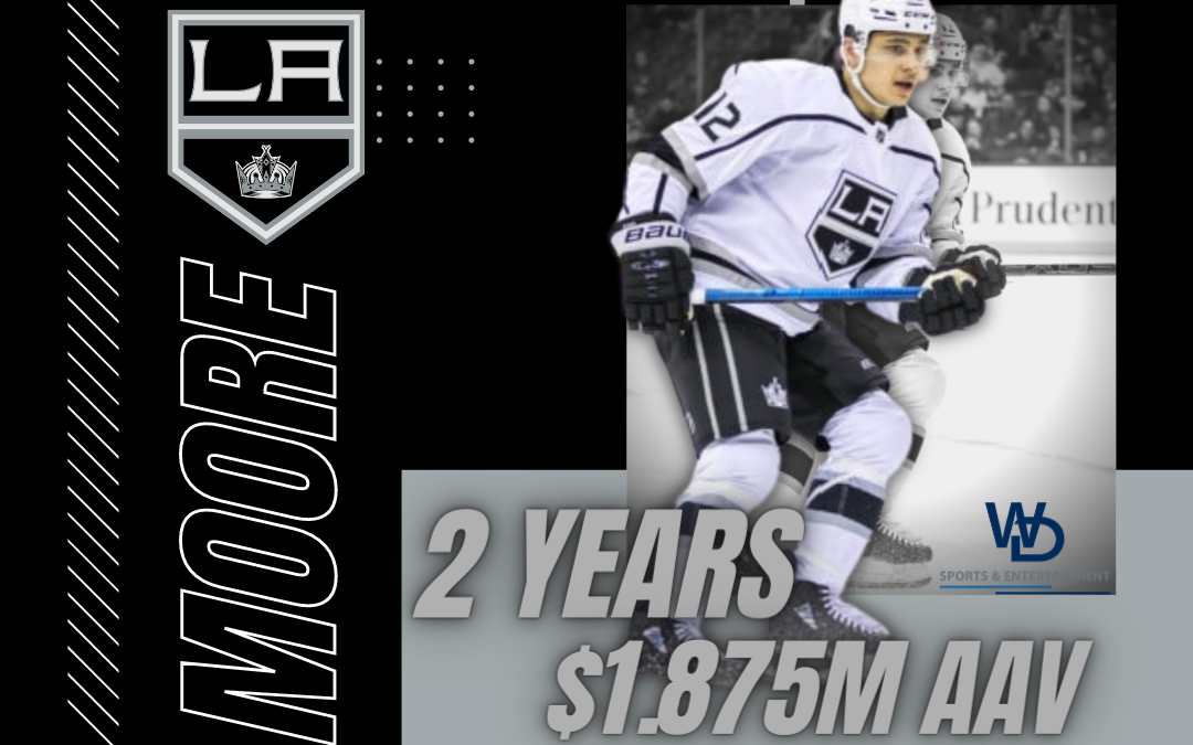 Moore Inks 2-Year Extension with Kings