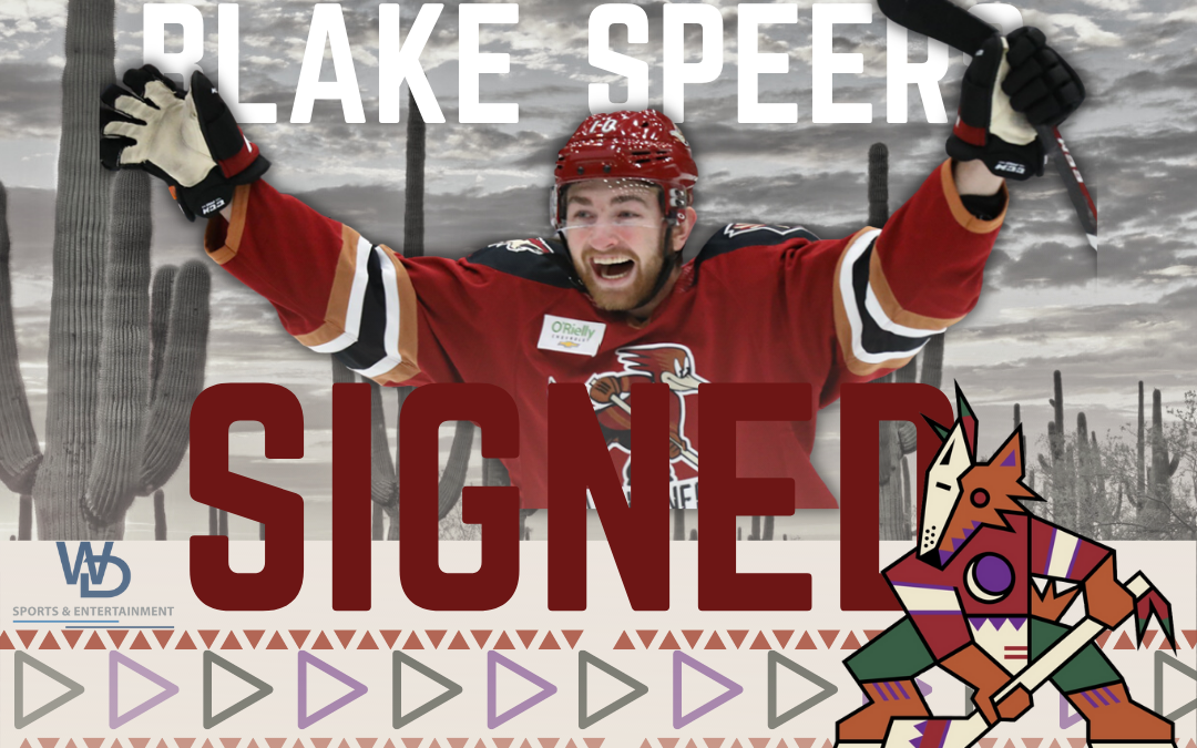 Speers Commits to Coyotes for Another Year
